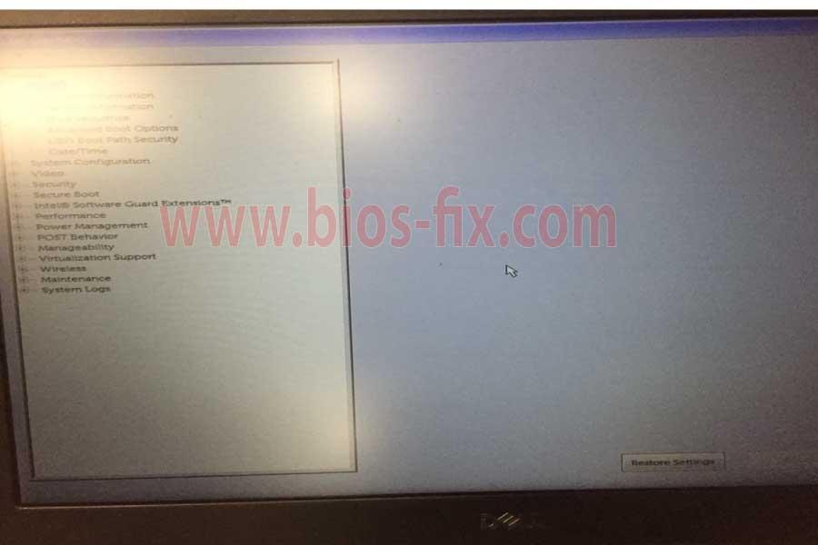 Dell Latitude Bios Password Reset