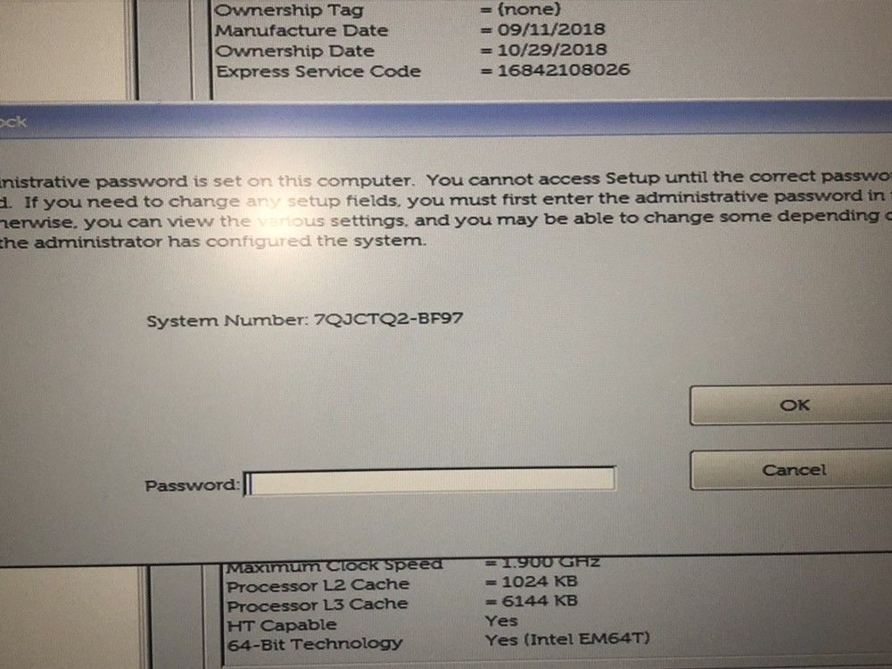 unlock password dell latitude 5591 .jpg